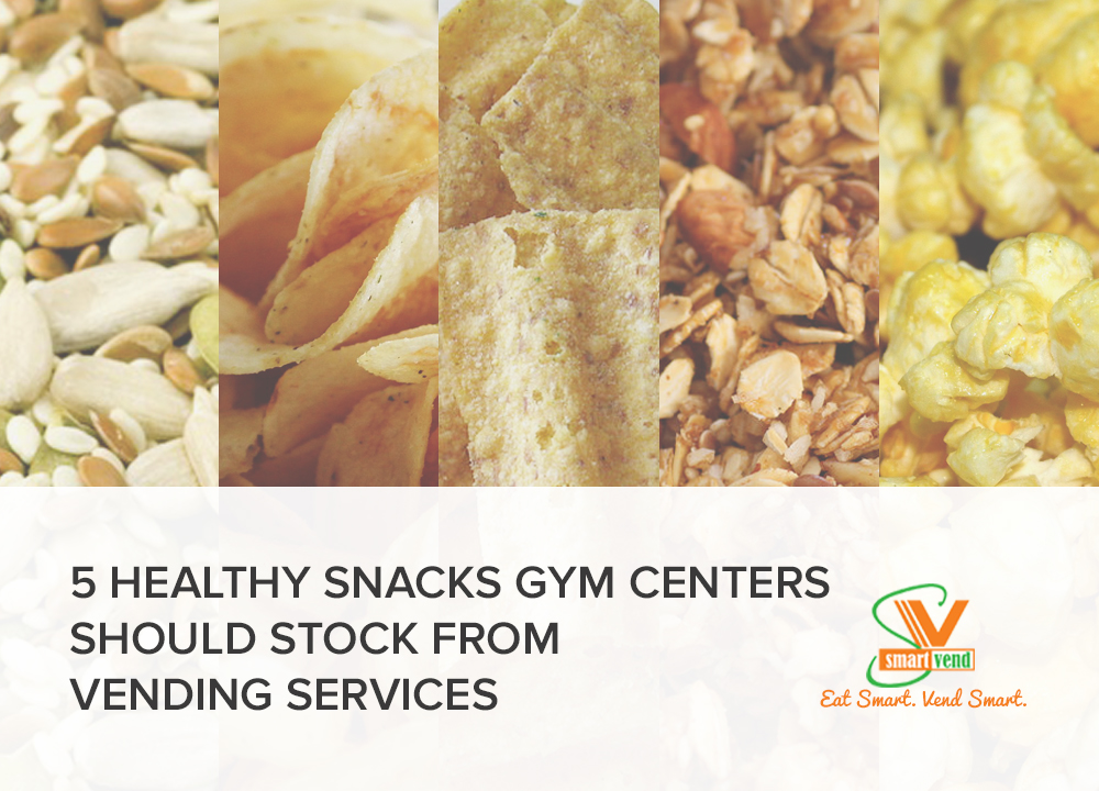 Healthy Snacks Inside Vending Machines From Vending Services