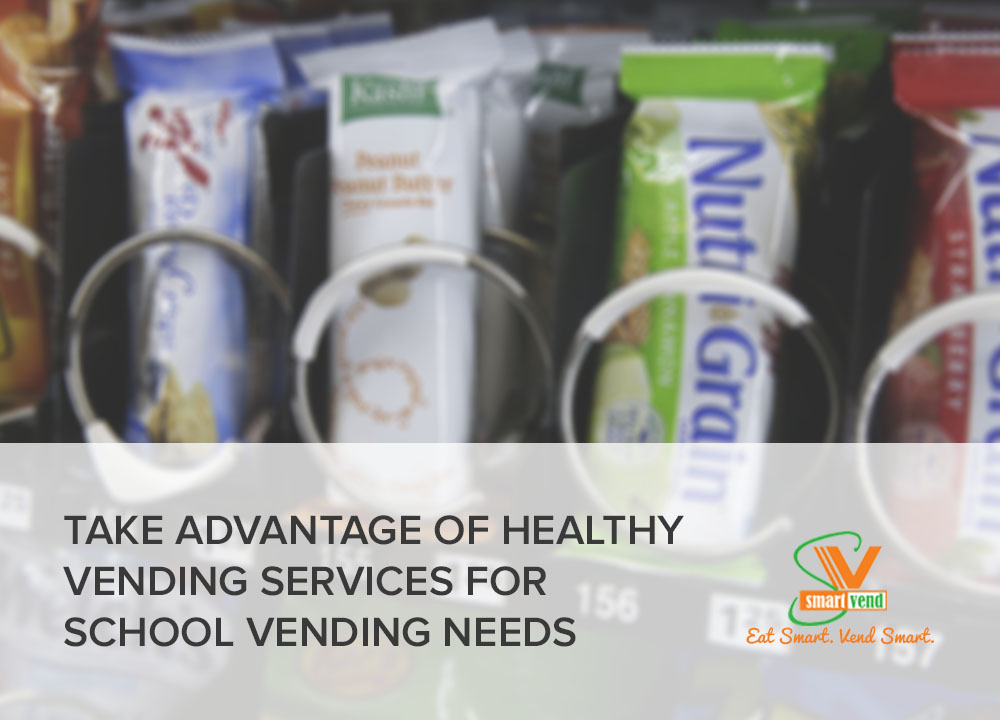 Choose a Vending Service with Healthy Vending Options for Schools