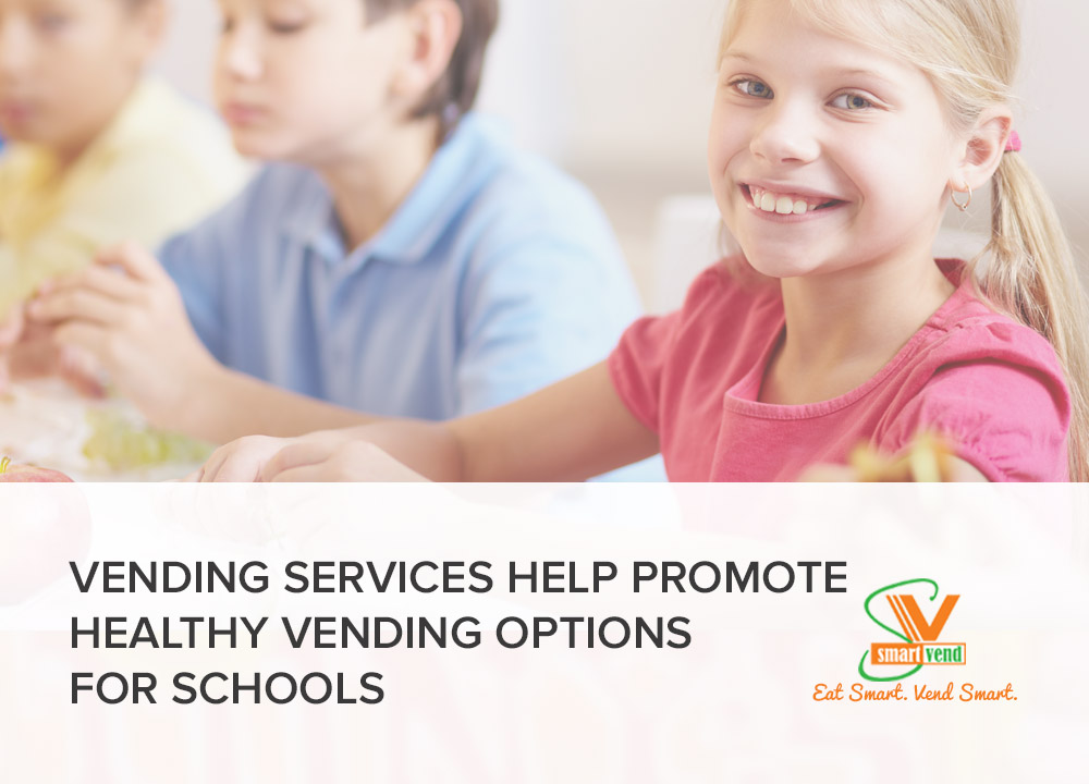 Image Alt-Text: Healthy Vending To Help Fight Childhood Obesity To Students In Schools