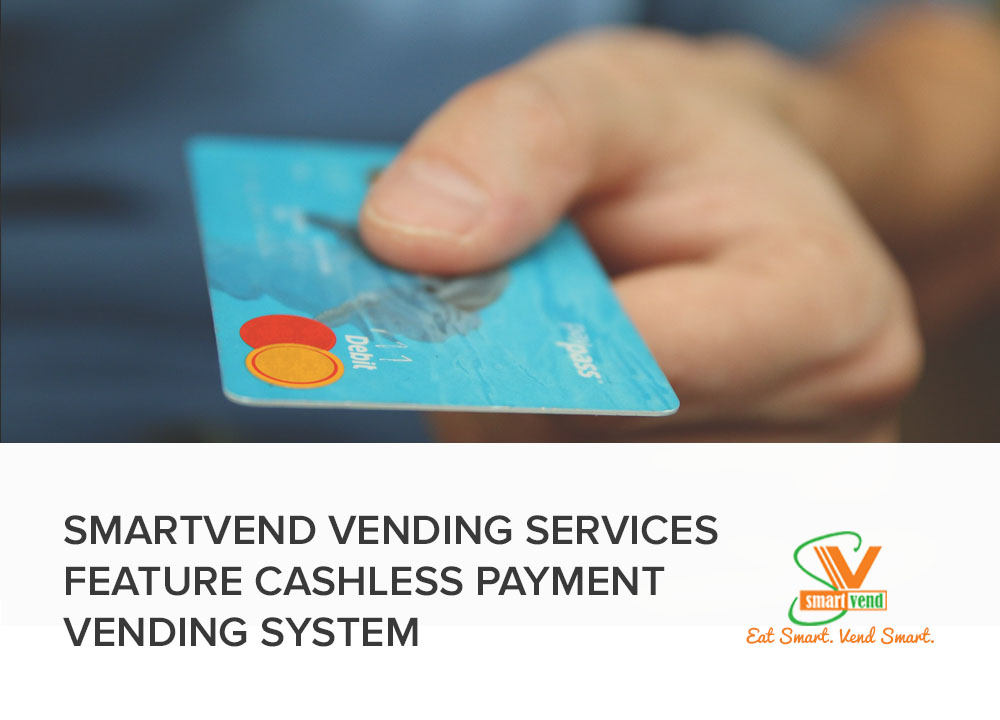 Using Cashless Vending Payment from Smartvend Vending Services