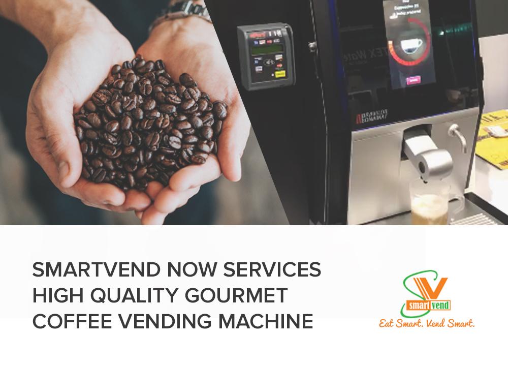 Smartvend Vending Services Offer Gourmet Coffee Vending Machines
